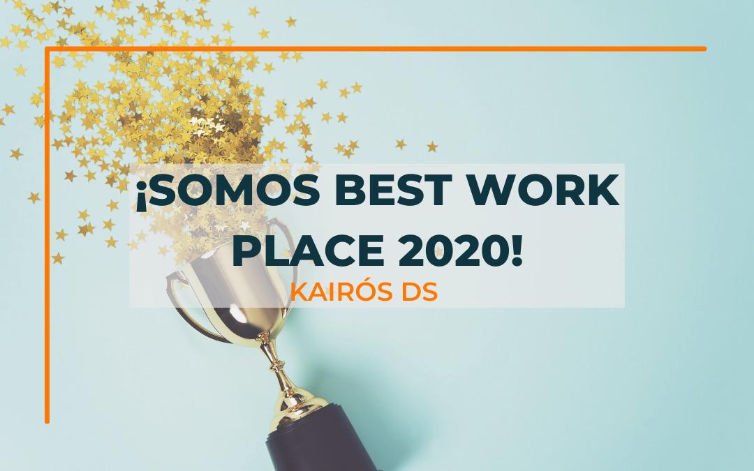 Post ¡Somos Best Work Place 2020! Blog Kairós DS