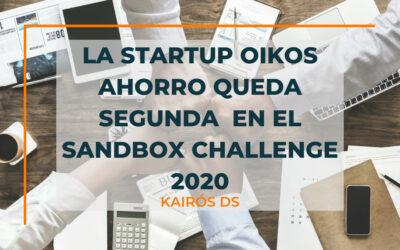 La startup Oikos Ahorro queda segunda en el Sandbox Challenge 2020