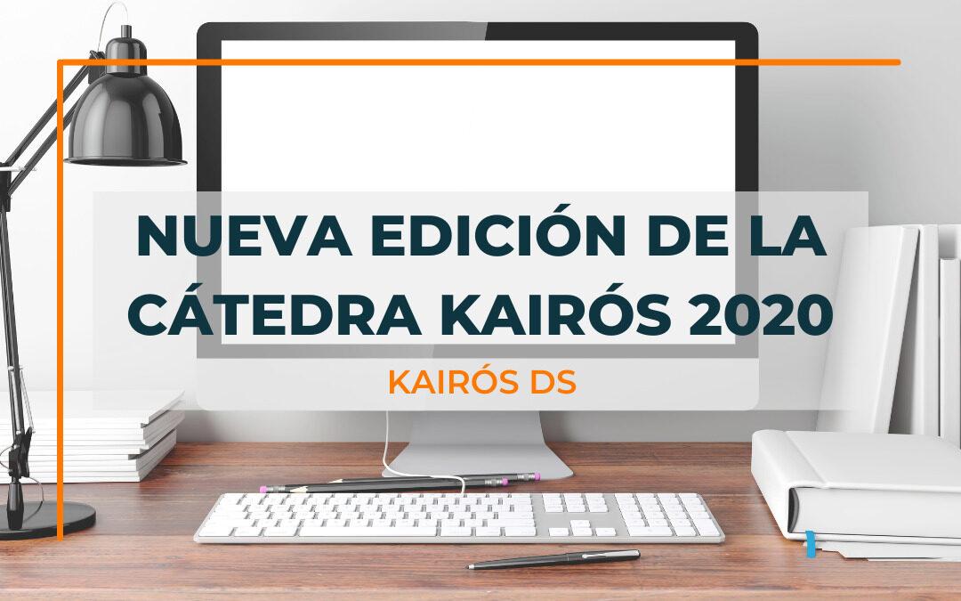 Nueva edición de la Cátedra Kairós 2020